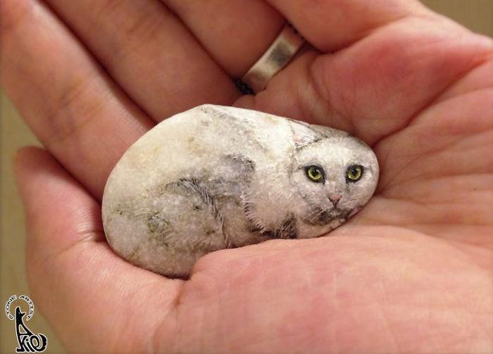 Quiero pintar el espíritu viviente que percibo dentro de las piedras