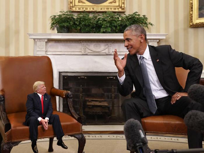 Crean imágenes de Trump como si fuera diminuto, y seguramente al presidente no le gustarán nada (Parte 1)