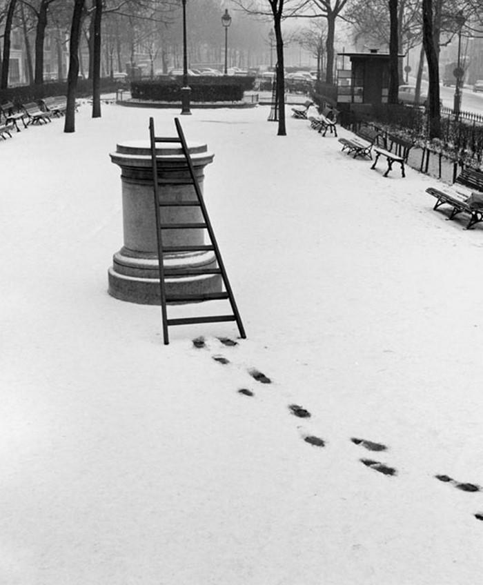 Divertidas fotografías urbanas de la Francia de los años 50, por René Maltête