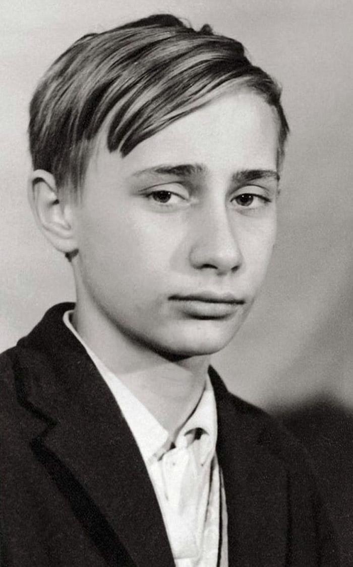 10 Sorprendentes fotos de líderes mundiales en su juventud