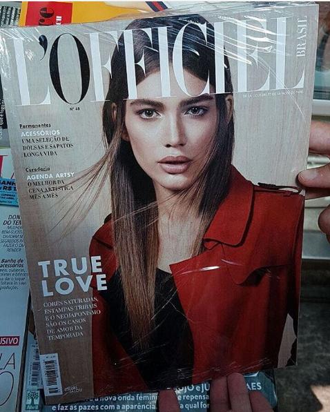 Sampaio, la primera mujer trans en aparecer en una portada de 'Vogue'