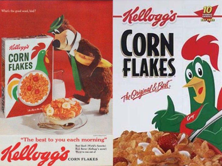 ¡Así lucían nuestros cereales favoritos hace décadas!