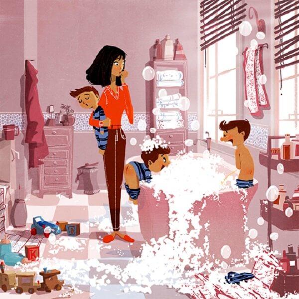 Ilustraciones que nos muestran la belleza de la vida